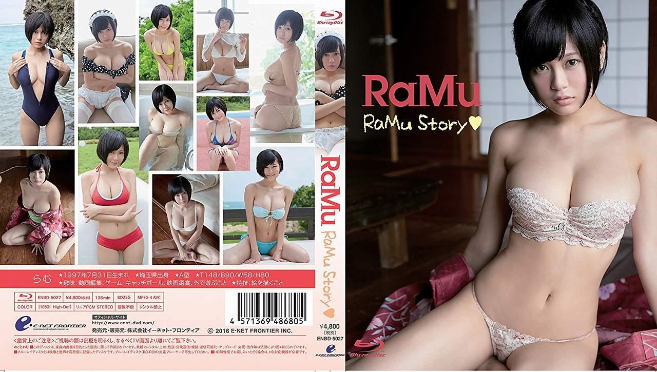 RaMuのBlu-ray「RaMu Story」パッケージ写真