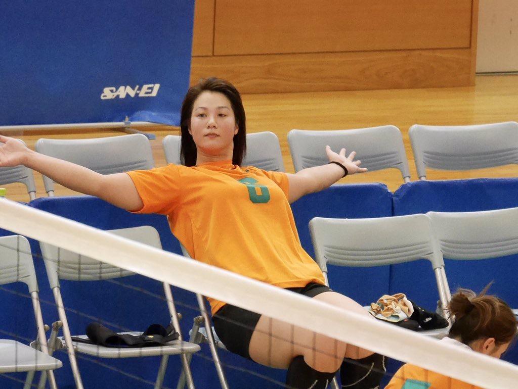 故障から復帰して以前より恵体になった女子バレーの吉村志穂選手