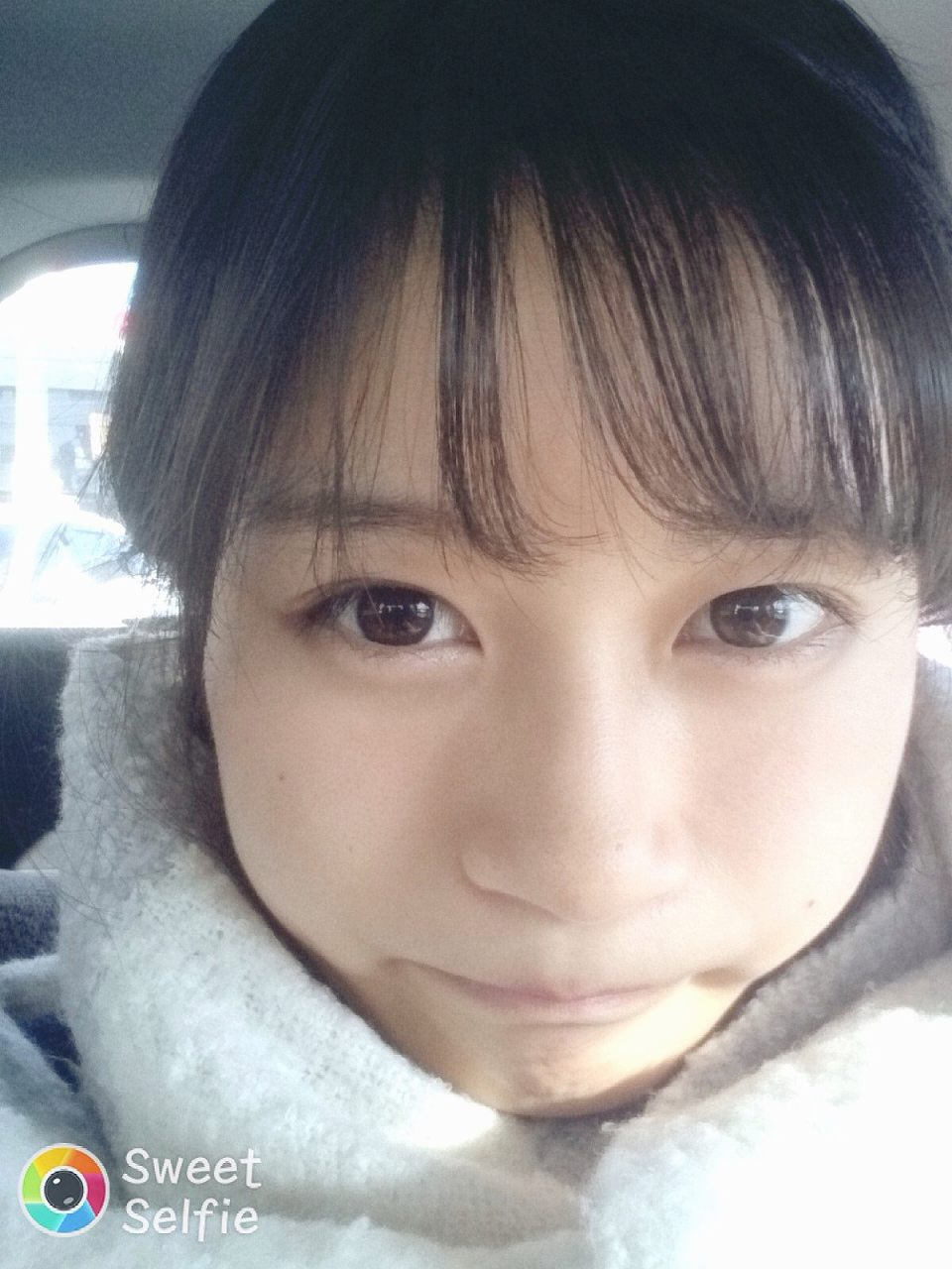 可愛い女の子の自撮り画像