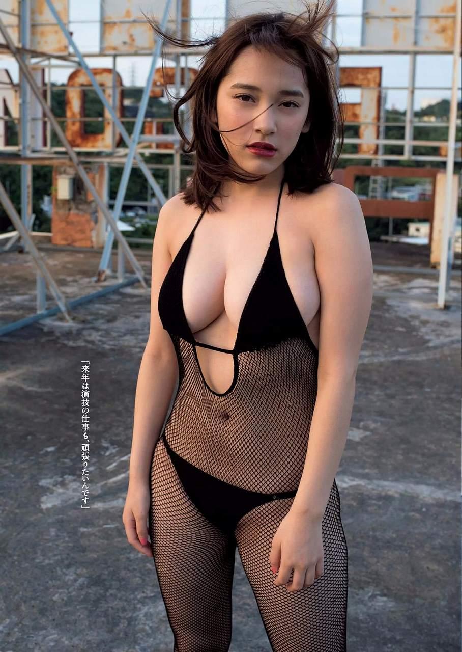 「週刊プレイボーイ 2016 No.50」都丸紗也華の変態水着グラビア