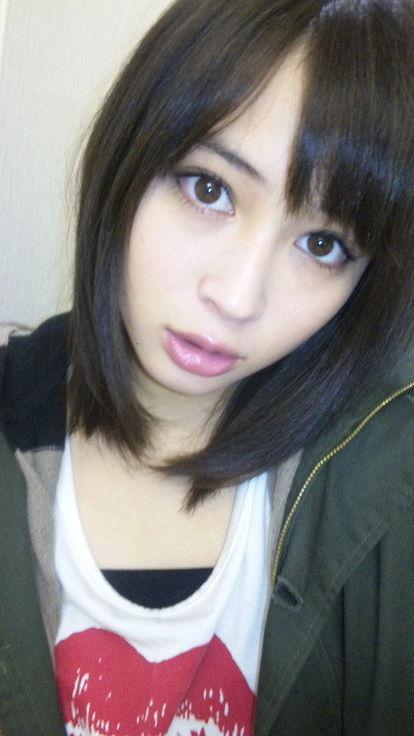 広瀬アリスの自撮り画像