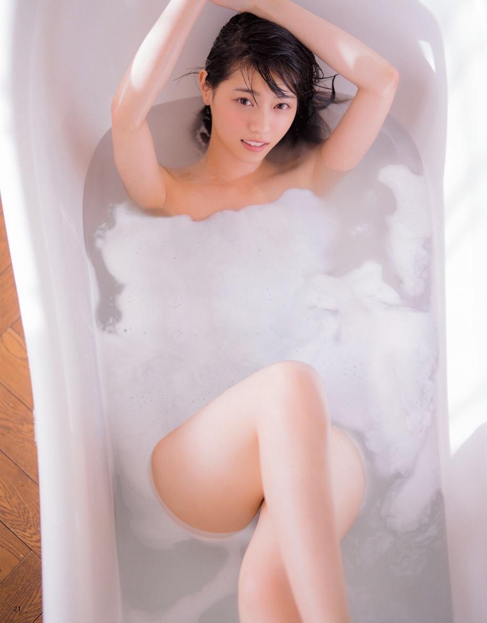 「anan (アンアン) 2017年 2月1日号」西野七瀬の全裸入浴グラビア
