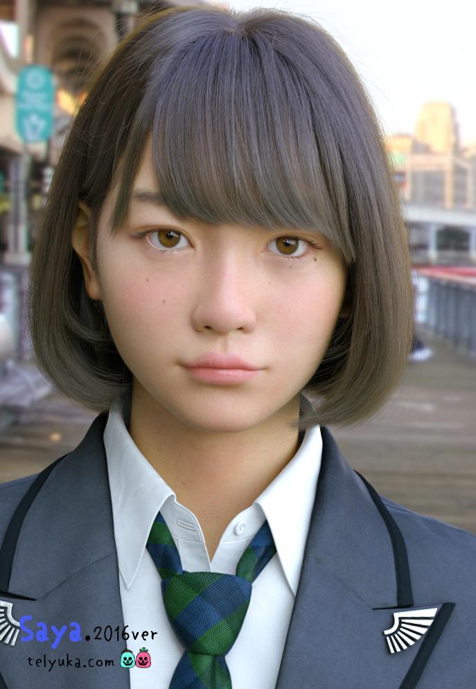 CG女子高生のSAYA