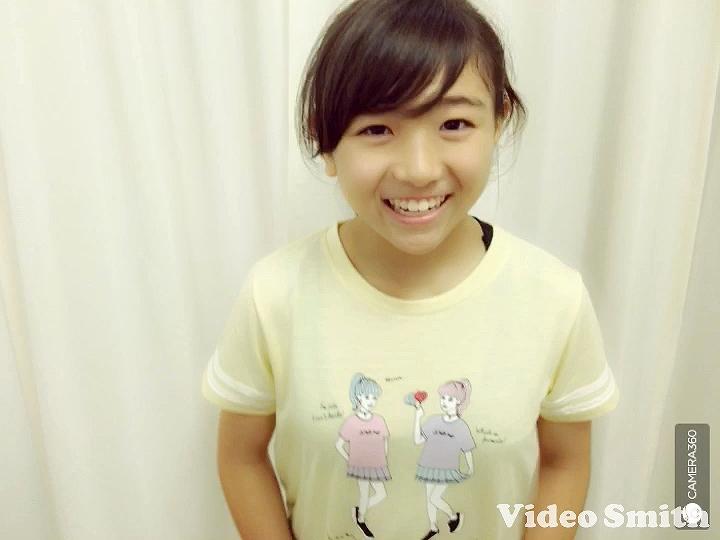 Tシャツを着たHKT48・武田智加の着衣おっぱい