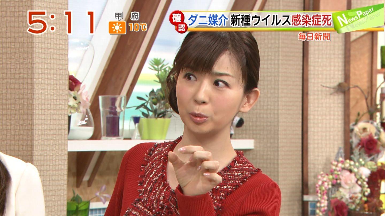 テレ朝「やじうまテレビ!」の松尾由美子アナ