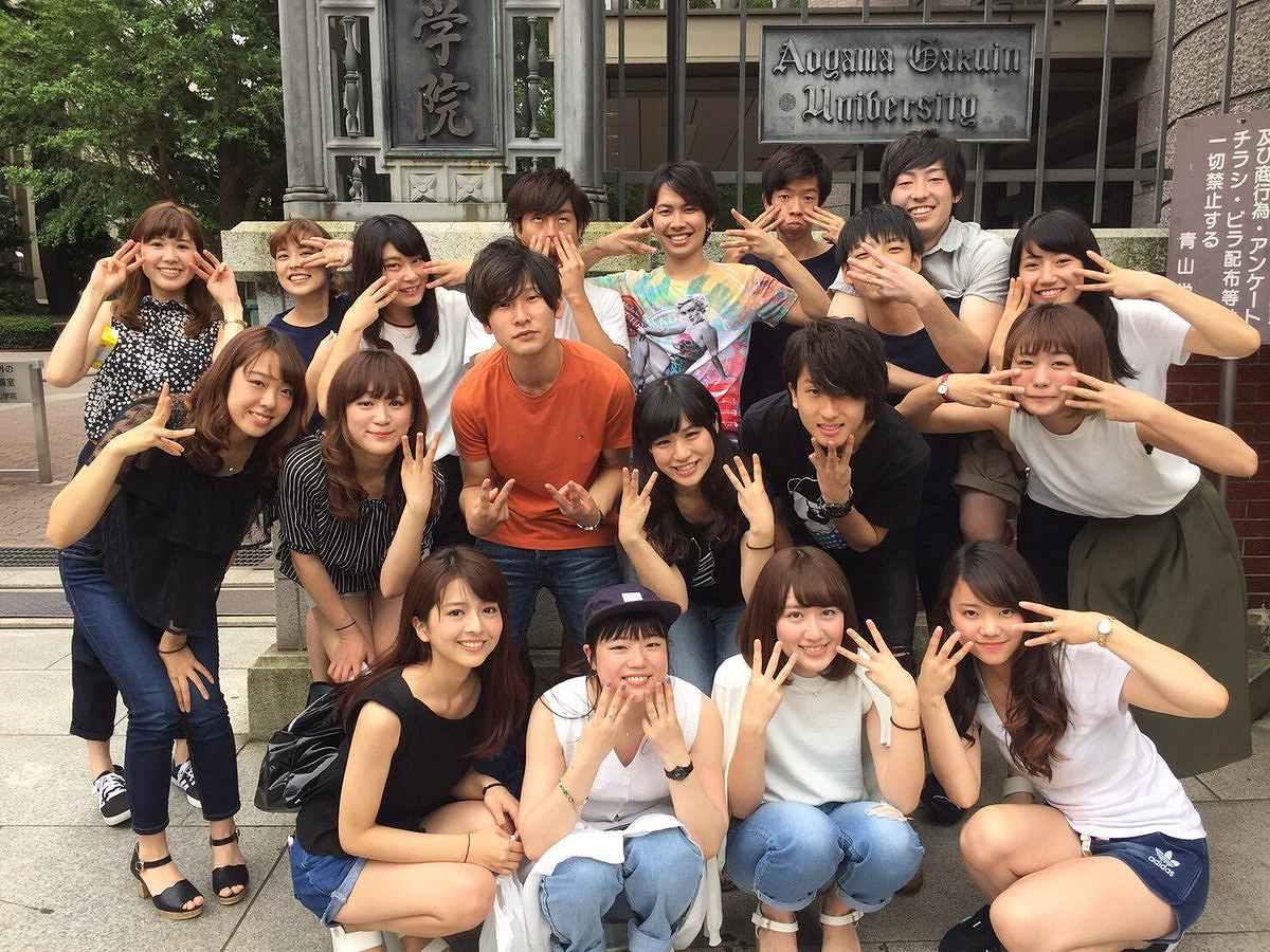 青山学院大学時代の福田成美
