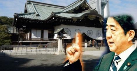 安倍総理 in 靖国神社
