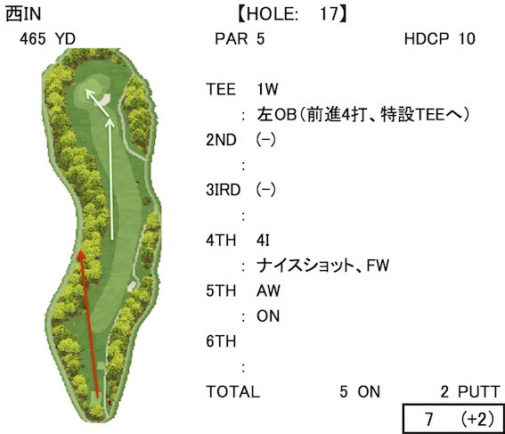 藤岡GC IN 17