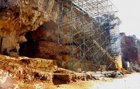 アタプエルカ遺跡 写真