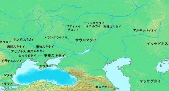 アンドロゴバイ 地図