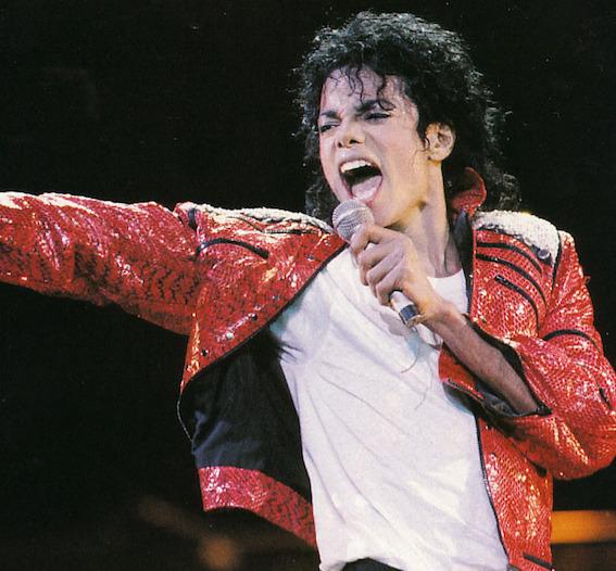 マイケル・ジャクソン写真