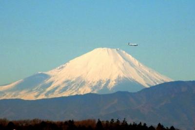 冠雪の富士山b_1