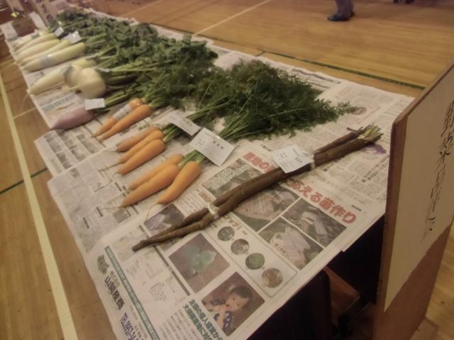 野菜の品評会