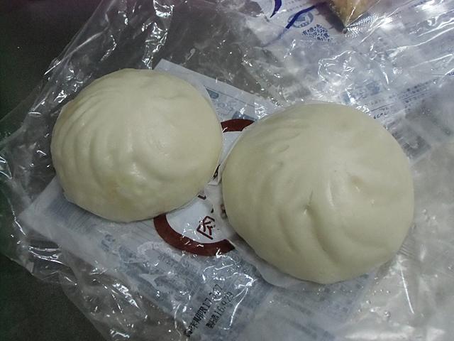冷凍の肉まん