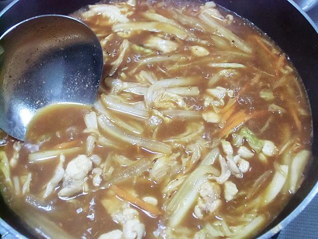 スープと八丁味噌