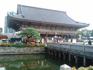 て四天王寺六時堂 (2)