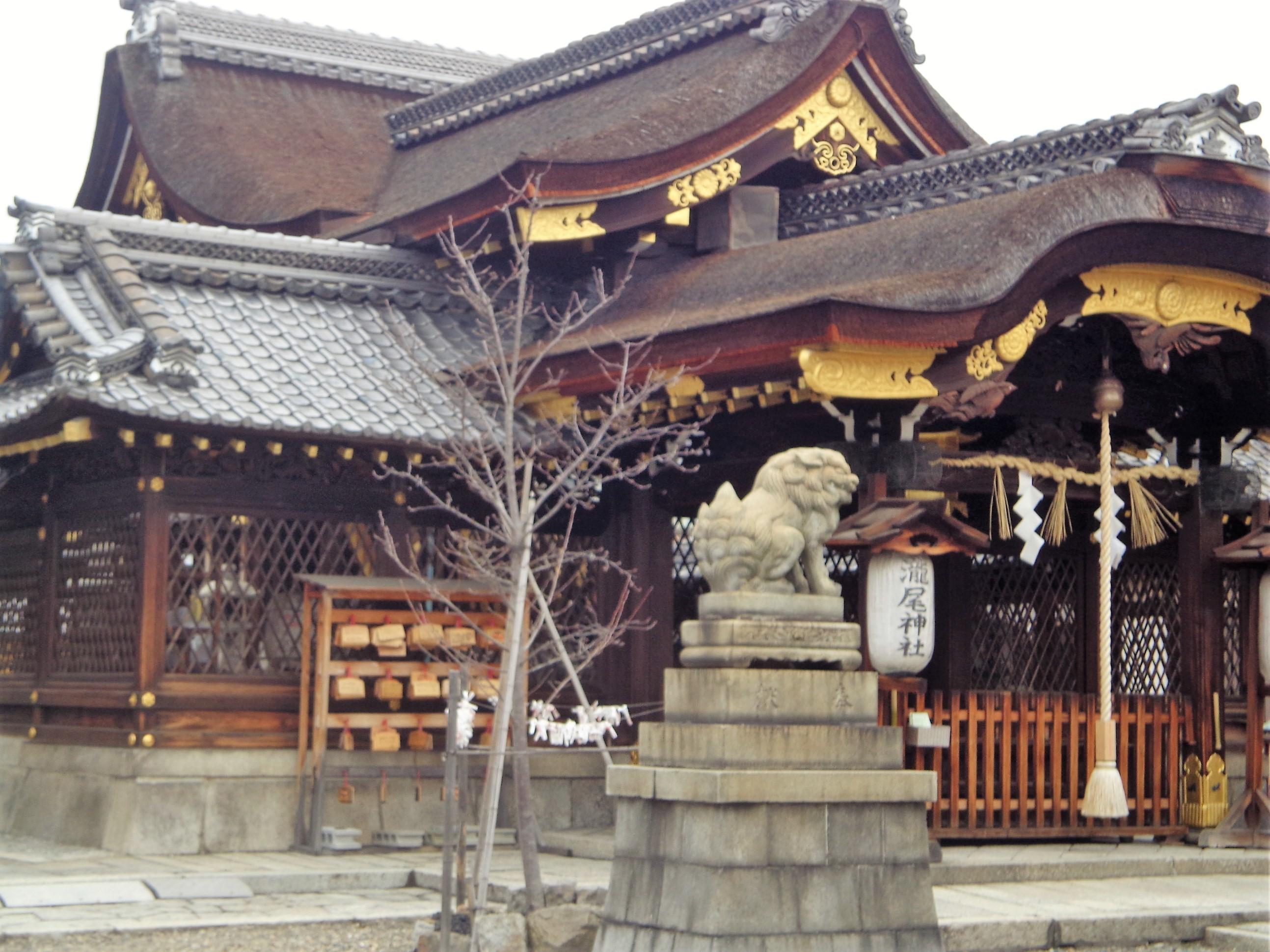 た瀧尾神社w
