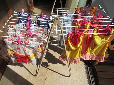 衣替えの洗濯~