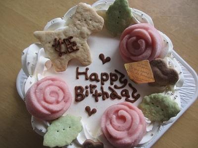 姫11歳のお誕生日ケーキ