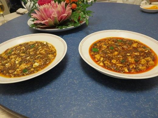 マーボー豆腐2種
