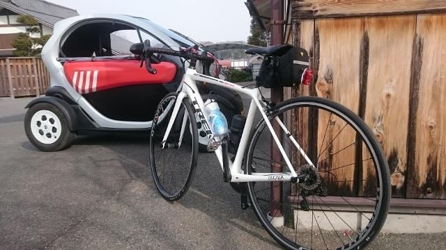 ロードバイクとEV