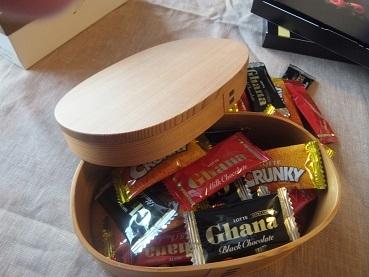 チョコを入れてみました1