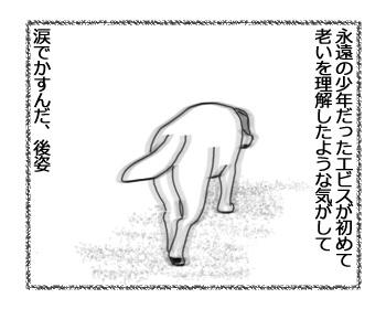 羊の国のラブラドール絵日記シニア!!「かすんだ後姿」5