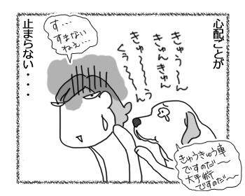 羊の国のラブラドール絵日記シニア!!「心配症エビちゃん」4