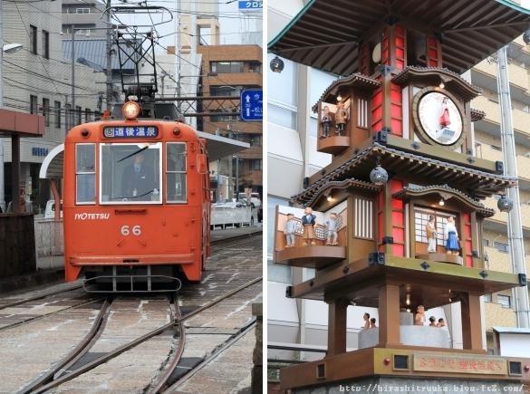 松山市電&からくり時計-SN