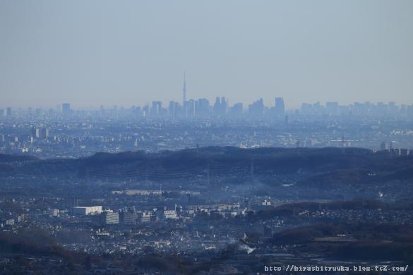 東京スカイツリー&新宿方向ーSN