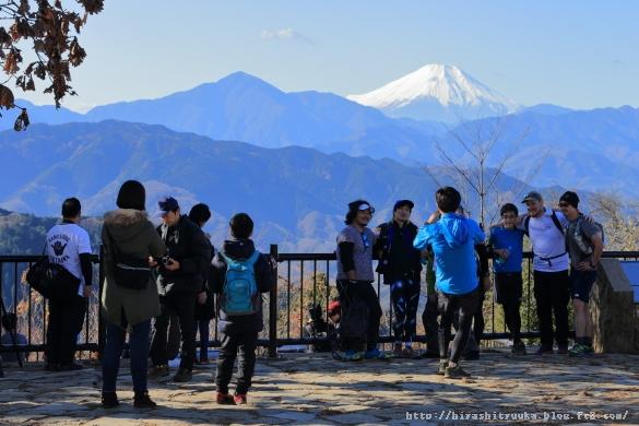 高尾山山頂ーSN