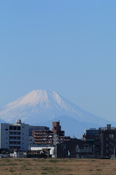 荒川から富士山ーS