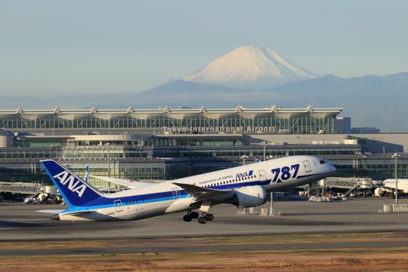 B787&富士山-S