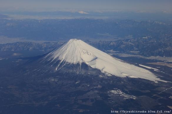富士山上空ーSN