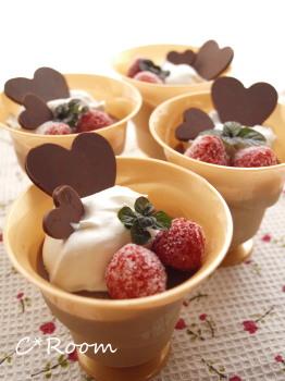 プリン(チョコレート)