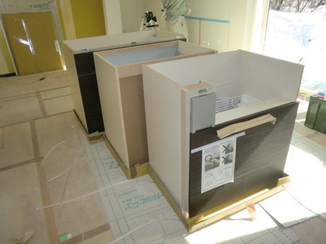 清水キッチン施工