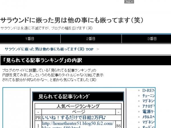 トップページの変更