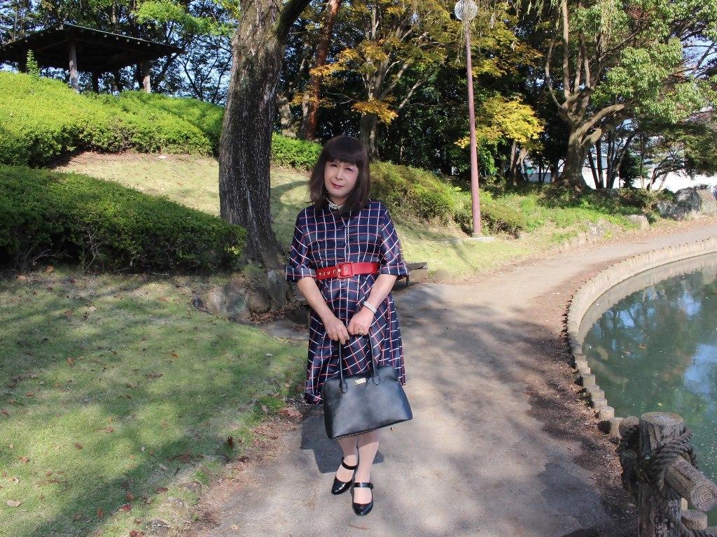 格子柄ワンピA(7)