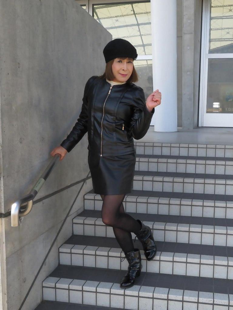 レザーファッションB(2)