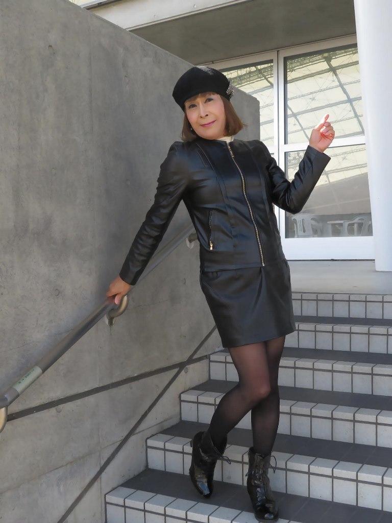 レザーファッションB(4)