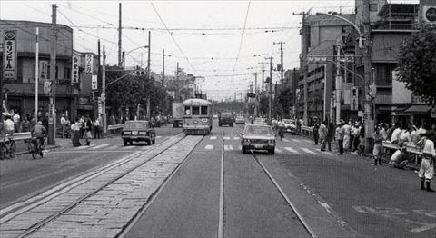 昭和45年頃の山谷通り