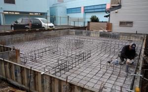 1月20日 基礎水道工事