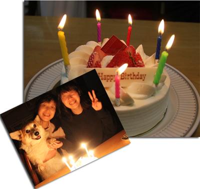 三女誕生日