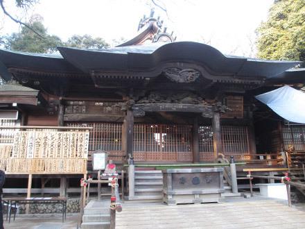 夕方の深大寺