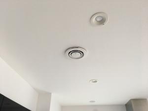 キッチン天井のナノイー発生器