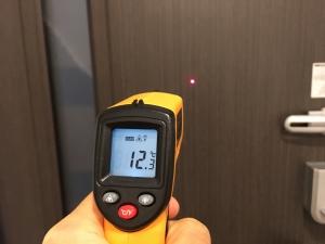 ドア本体の温度