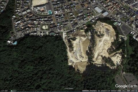 Google Earth 20161024 吉根大規模開発