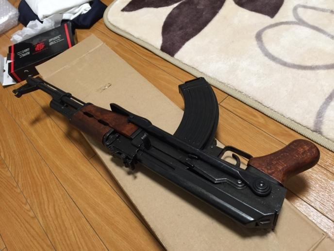 DENIX AK47Sファーストレビュ