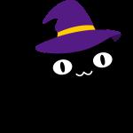 クロ猫ハット