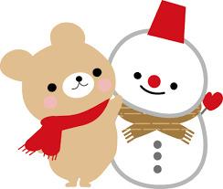 猫&雪だるま